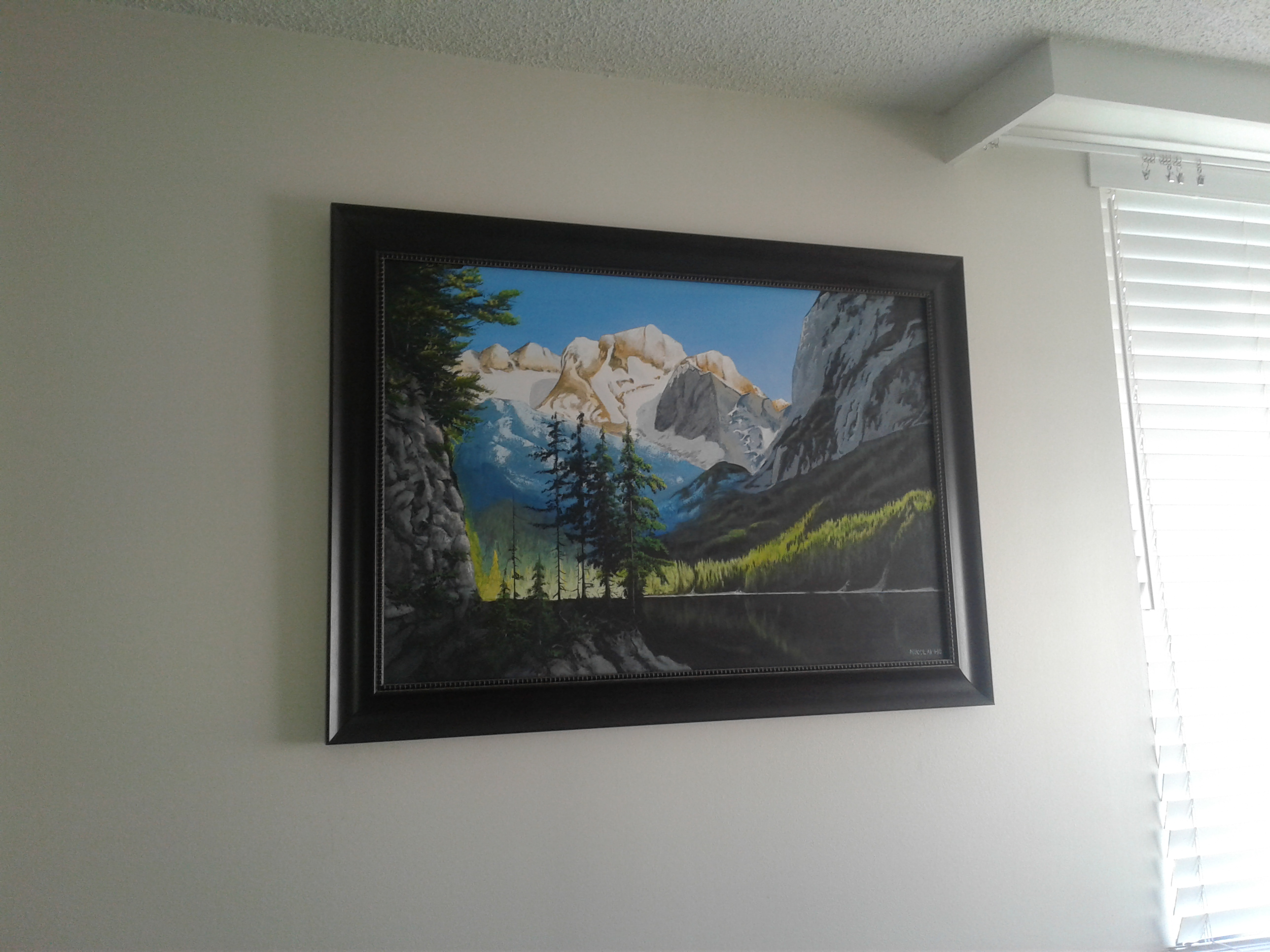 Mounted and framed 1