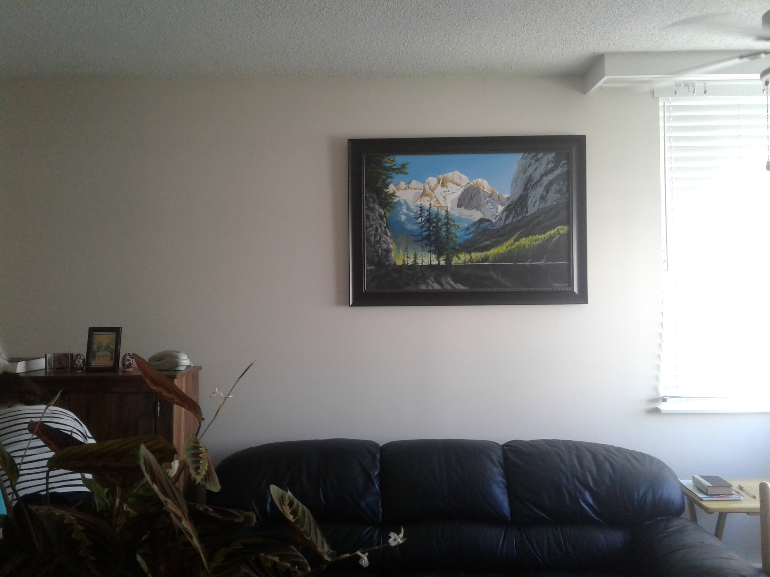 Mounted and framed 2
